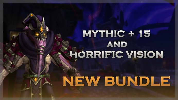 Mythic+15 and Horrific Vision Boosts Bundle | Save More!