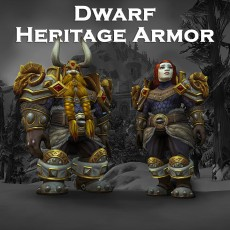Buy Dwarf Heritage Armor Transmog Set WoW Boost | A for ARMADA