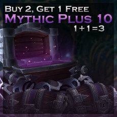 Buy Mythic Plus 10 Carries Bundle WoW | 1 Dungeon Free
