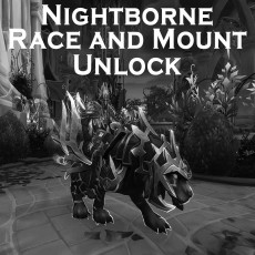 Buy Nightborne Race Unlock + Mount WoW Boost |