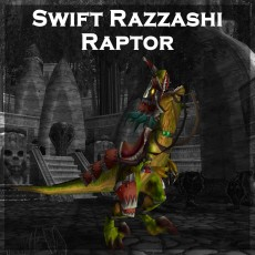 Buy Swift Razzashi Raptor Mount WoW Boost | A for ARMADA